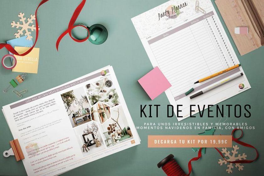 Kit de irresistibles eventos de Navidad para decorar y organizar eventos inolvidables @Utrillanais