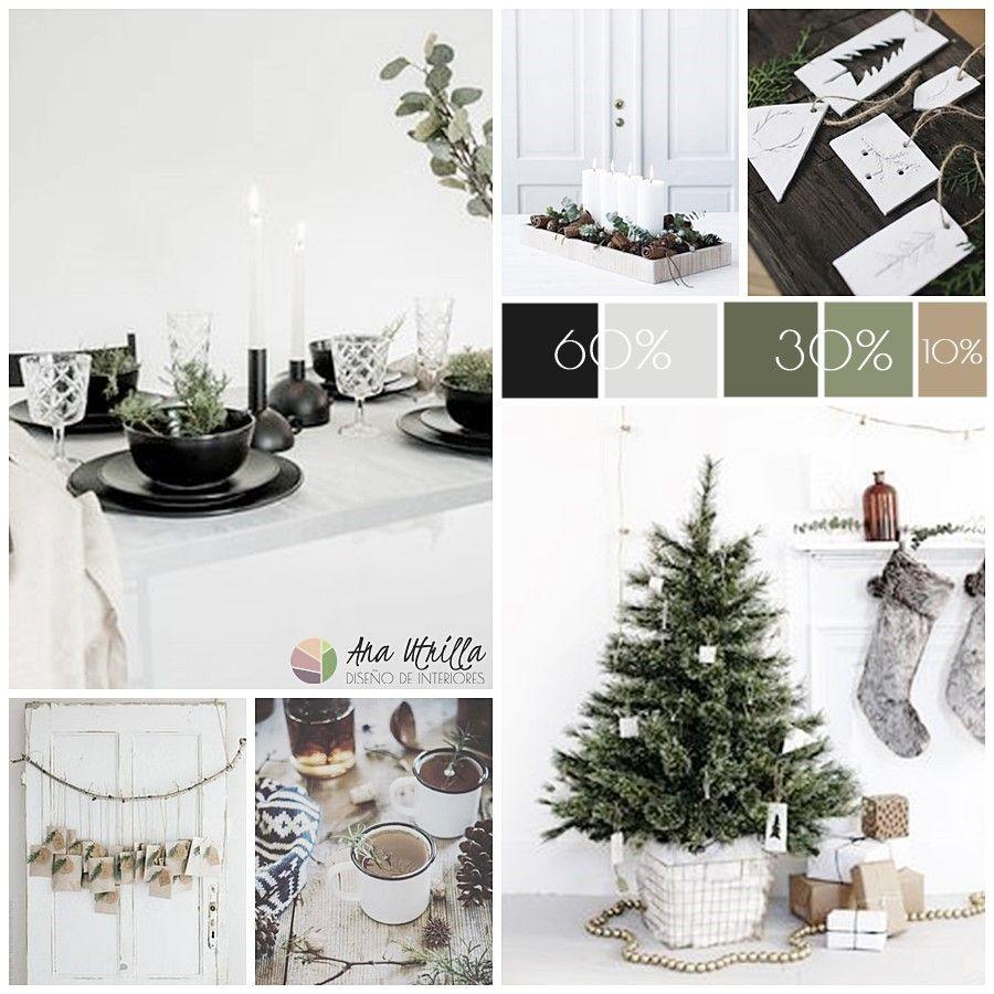 Decoración de Navidad equilibrada y armoniosa