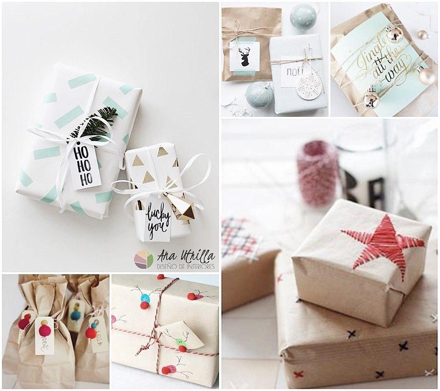 Originales ideas para envolver regalos en navidad