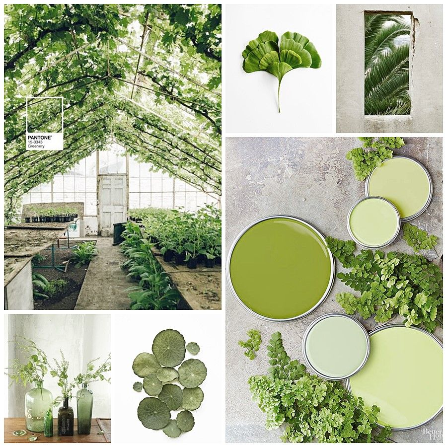 GREENERY EN TU DECORACIÓN, COLOR PANTONE 2017