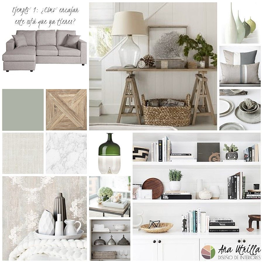 Como decorar interiores manteniendo tu mismo mobiliario por Ana Utrilla