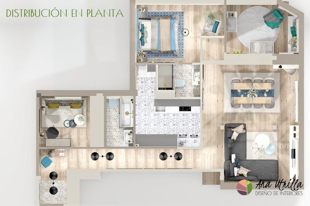 Dise o de interiores y decoraci n online ana utrilla for Diseno de casas online