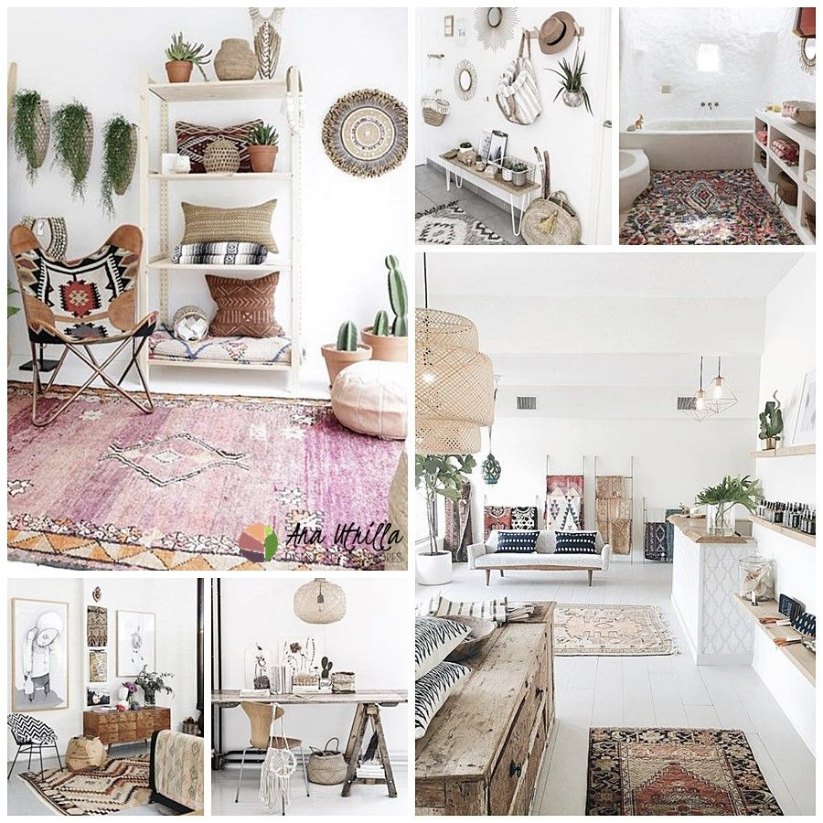 Trabajos de decoracion de interiores cool verde u naranja - Boho chic decoracion ...