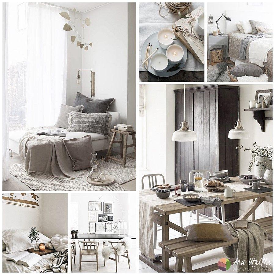 Decoración de interiores espacios de estilo escandinavo hygge