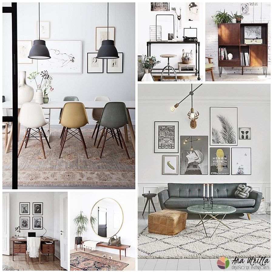 7 estilos de decoraci n de interiores en tendencia for Decoracion hogar retro