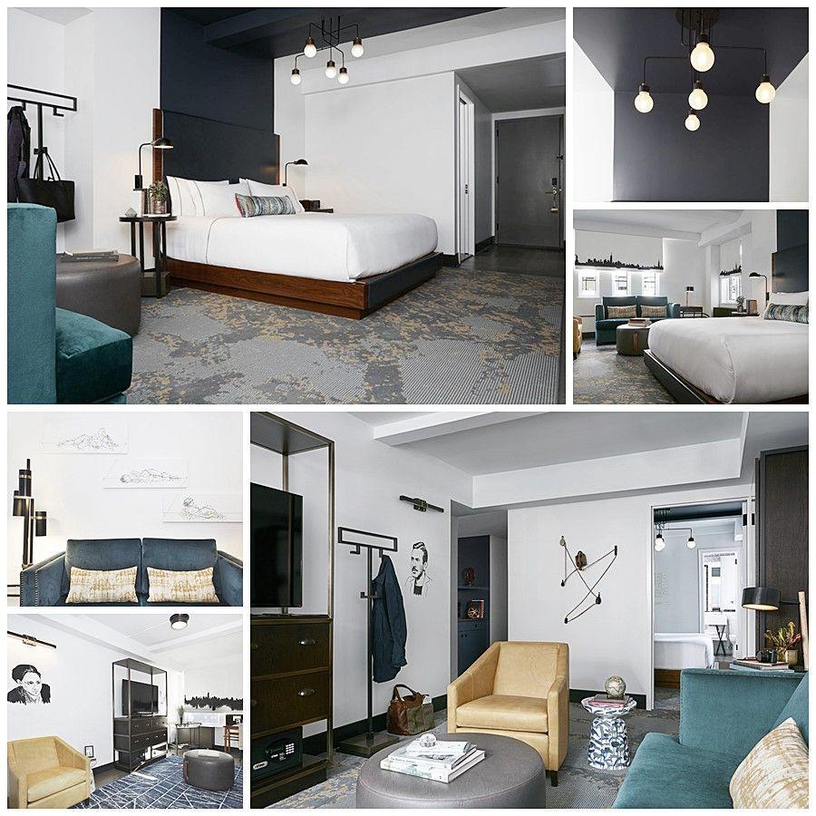 The Renwick Hotel New York City, habitaciones de interiorismo vintage chic