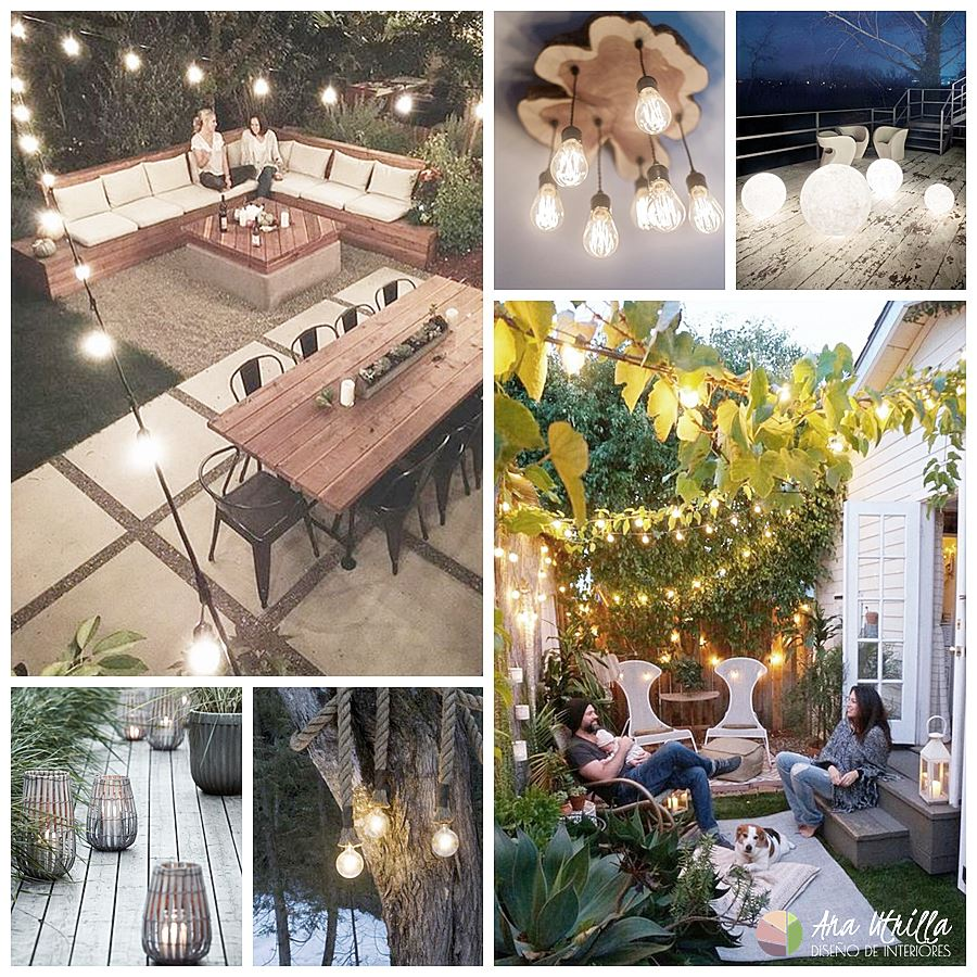 Consejos para iluminar tu terraza en verano