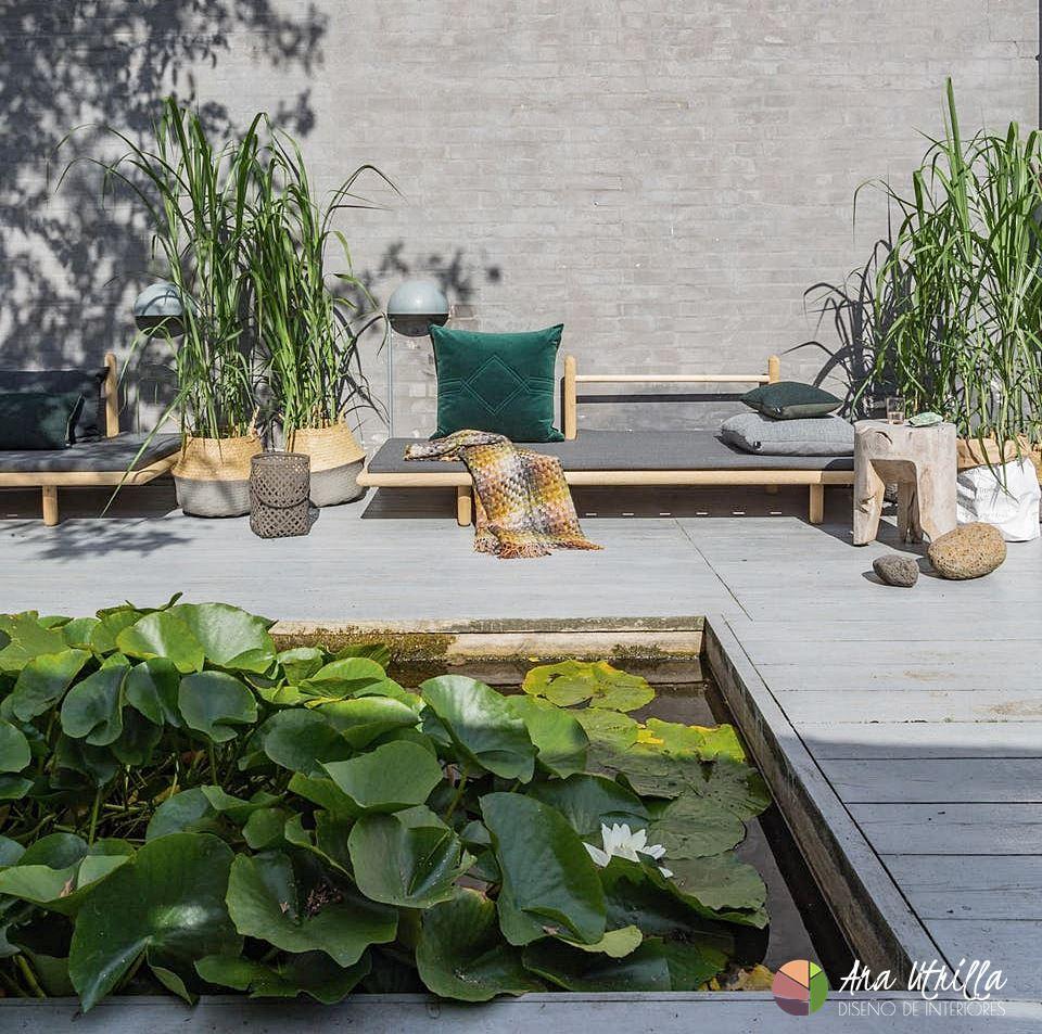 Aporta mucha vegetación a tu terraza