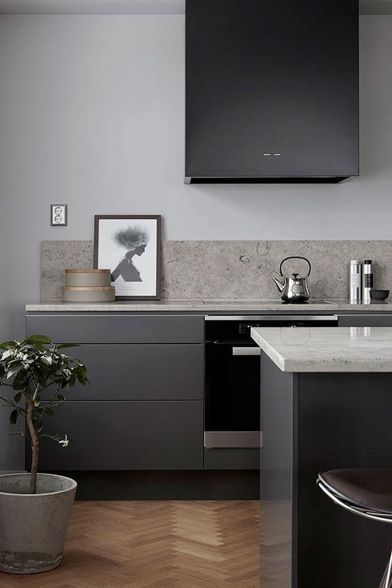 7 Errores al diseñar una cocina, cocina de estilo elegante minimalista