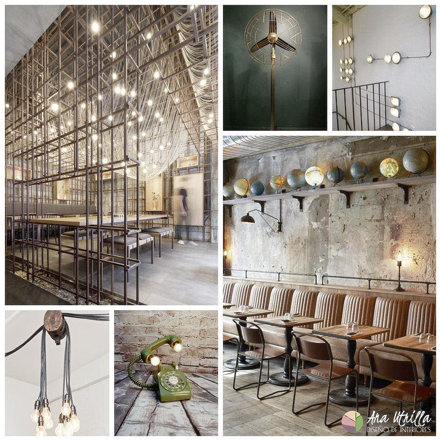 Estilo industrial en decoraci n de interiores ana for Decoracion retro industrial