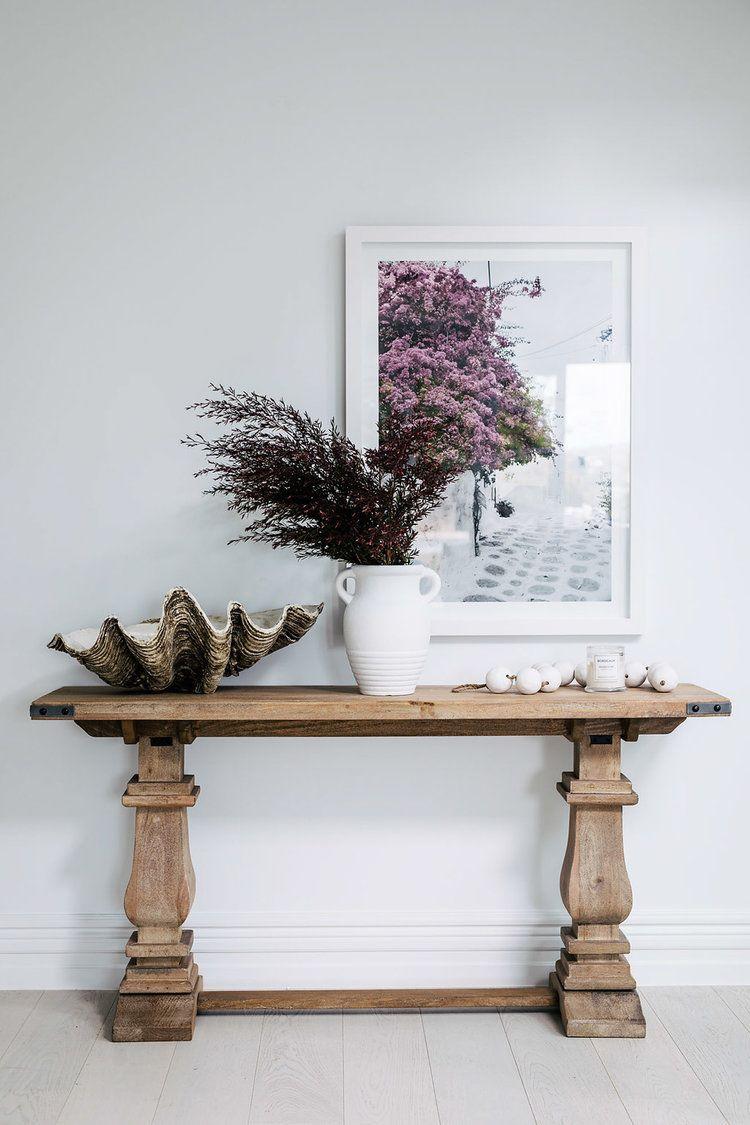 Atención por el detalle y los elementos decorativos de estilo rústico