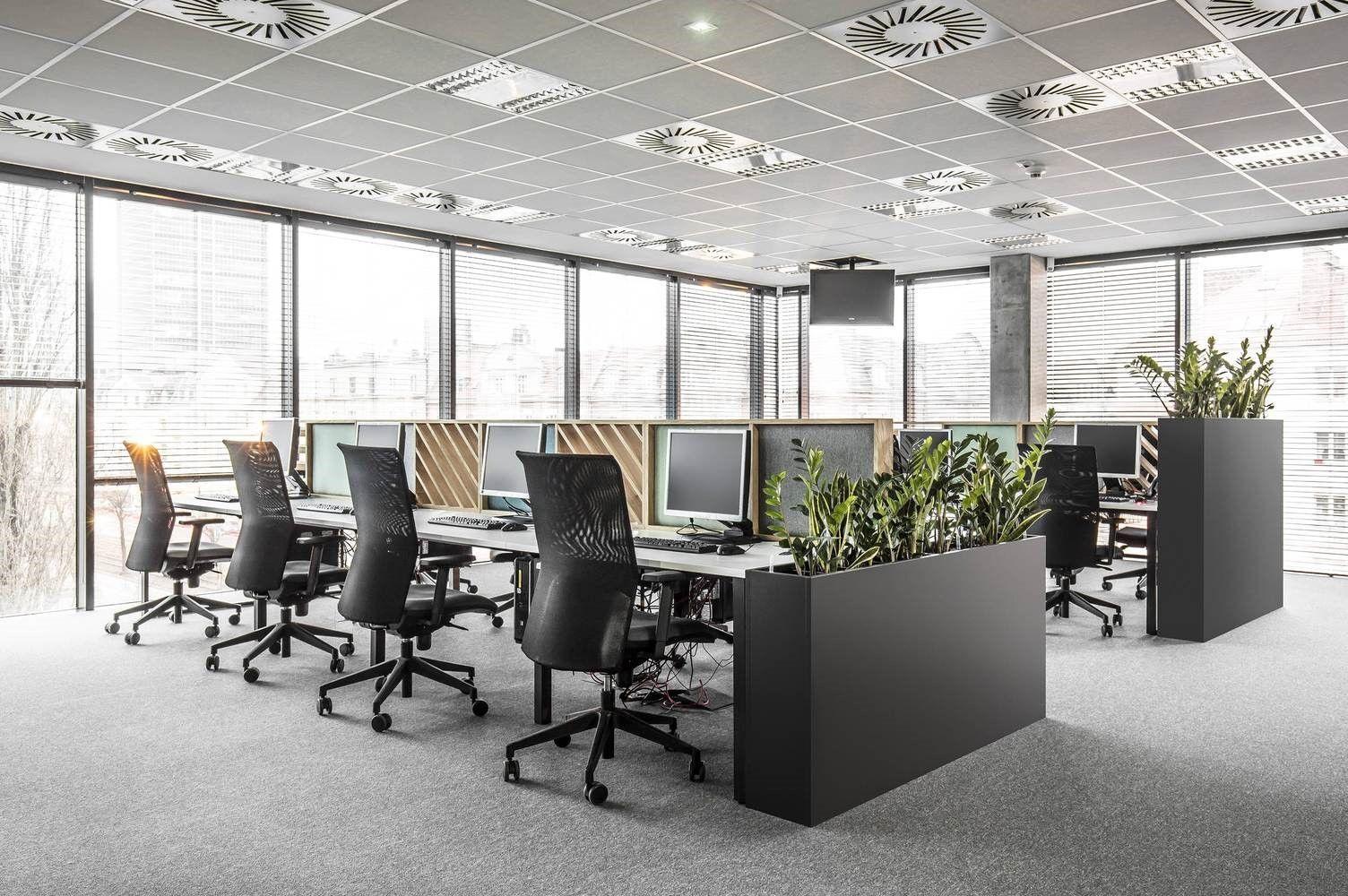 Zona de Open Office, de oficinas en Polonia por Metaforma