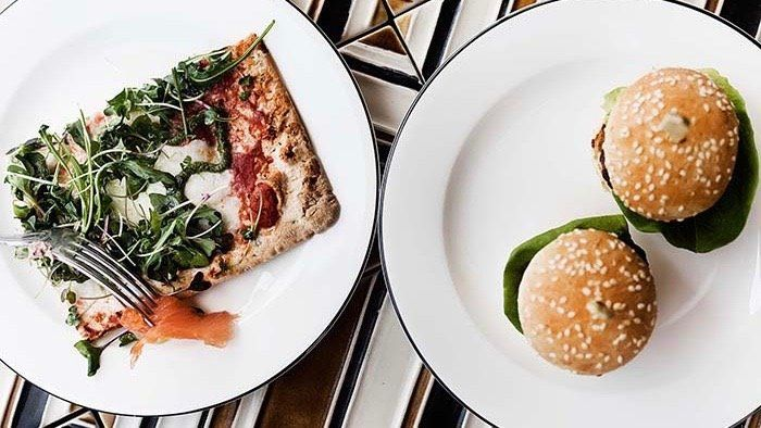 Presentación de platos en Casa Sueca para el Brunch