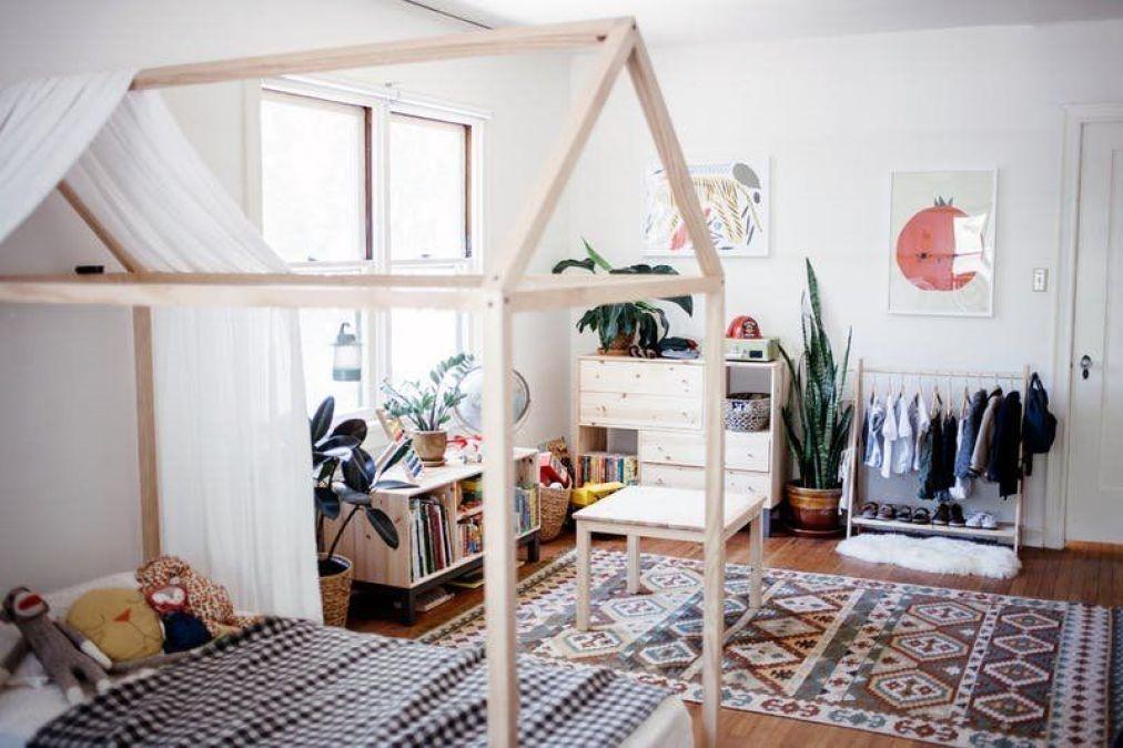 Habitación infantil según método montessori