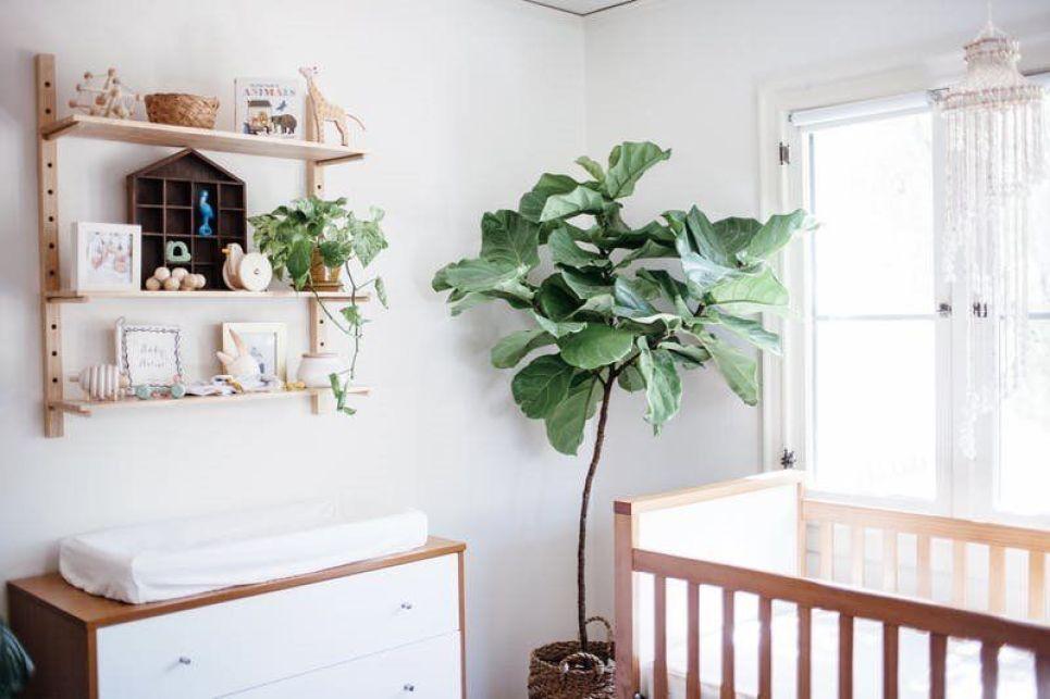 Decorar una habitación infantil con el método Montessori de estilo nórdico vintage y colores neutros