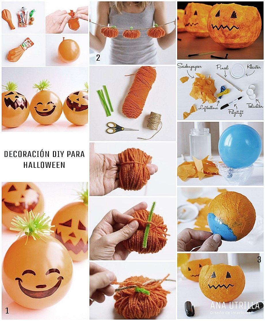 #Decoracioninterior #Diy para Halloween, divertidos proyectos e ideas para los más peques @Utrillanais