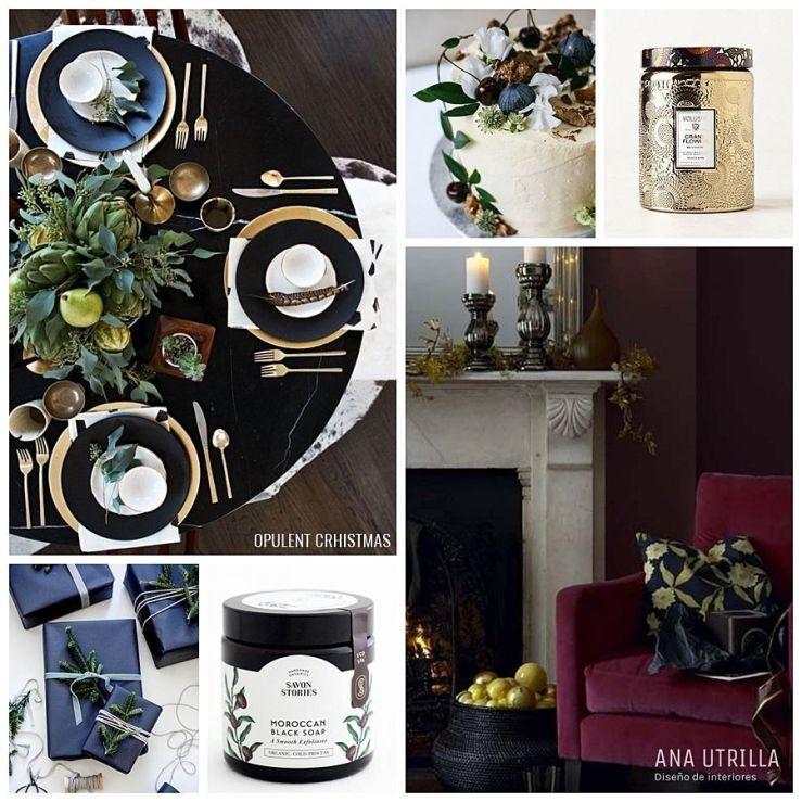BLOOMSBURY OPULENT CRHISTMAS ideas para completar tu decoración de Navidad en tendencia @Utrillanais