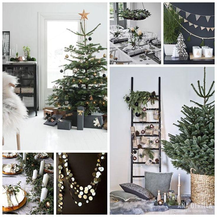 Greenery Christmas ideas consejos para implementar en tu decoración de Navidad @Utrillanais