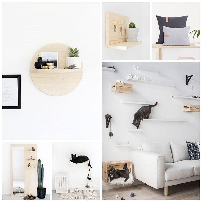 Decoración de interiores a través de tus manualidades y proyectos DIY, de estilo nórdico minimalista @Utrillanais
