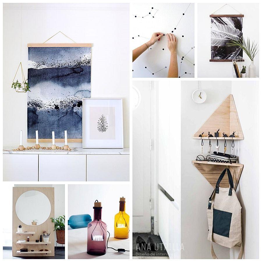 Diy para personalizar tu espacio, tu hogar con tu estilo @Utrillanais