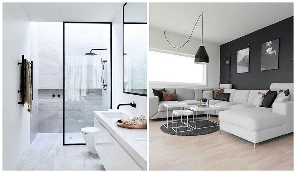 Espacios de estilo nórdico minimalista, funcionales, sencillos y elegantes en tonos naturales @Utrillanais
