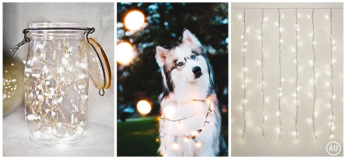 Fairy lights para decorar con iluminación indirecta, cálida y con mucha magia @Utrillanais