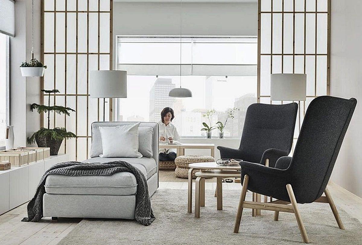 Mobiliario de estilo japandi de Ikea, para estancias funcionales, cálidas y acogedoras @Utrillanais