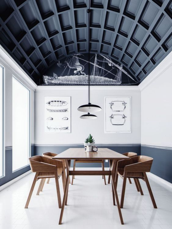 Statement Ceiling, decoración de techos tendencia 2018 por@Utirllanais