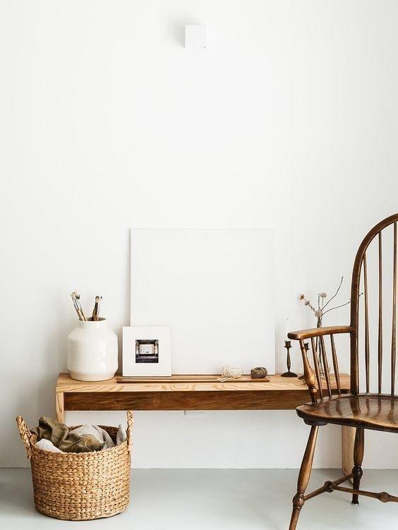 Decoración de interiores en madera de estilo escandinavo, rústico y shaker, funcionalidad y confort
