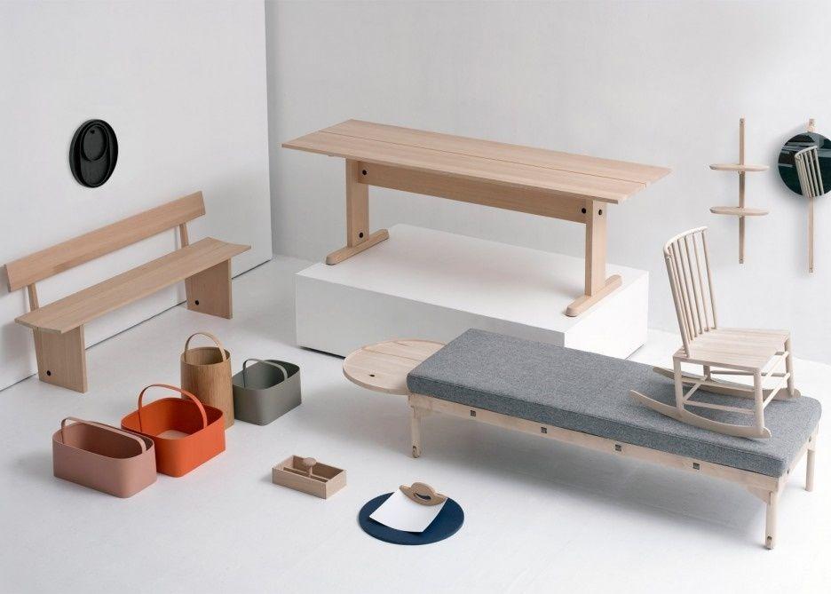 Mobiliario de estilo shaker en madera artesanal