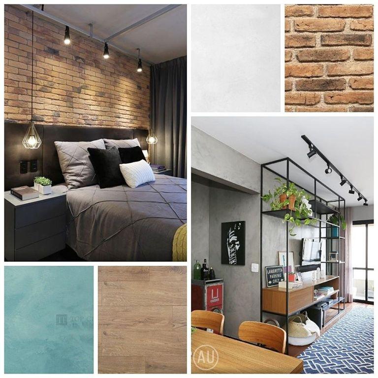 Proyecto de diseño y decoración de interiores de estilo nórdico-industrial en Madrid por @Utrillanais
