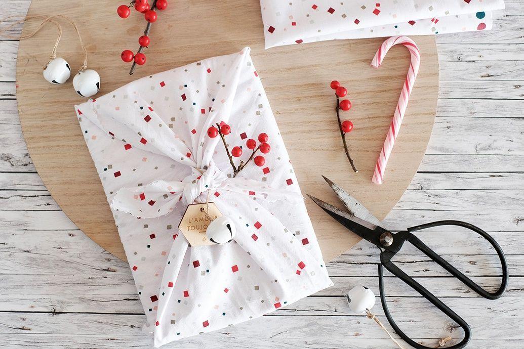Técnica japonesa para envolver con tela tus regalos