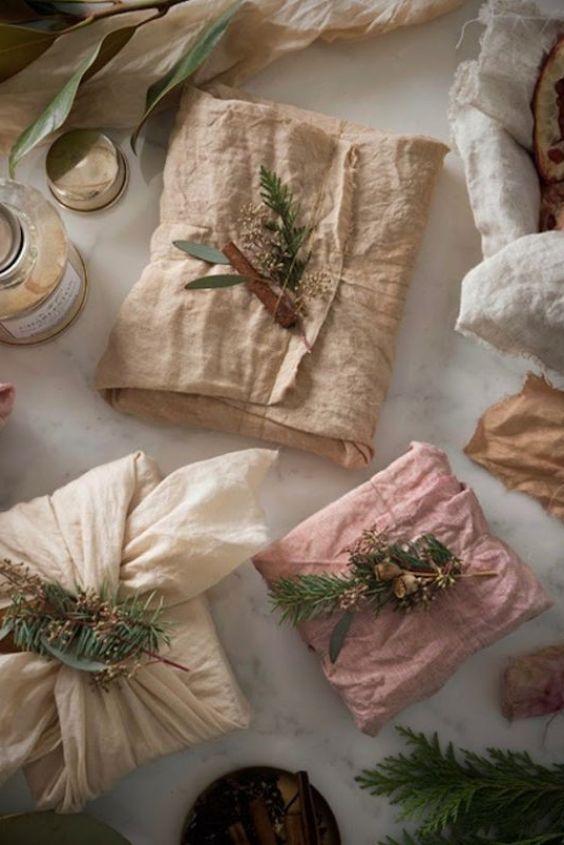 furoshiki técnica única y original para envolver tus regalos de Navidad de manera DIY @Utrillanais