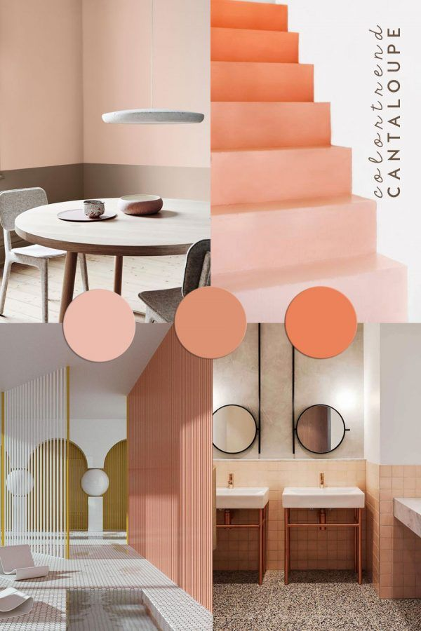 Cantaloupe color trends 2018 by ItalianBark