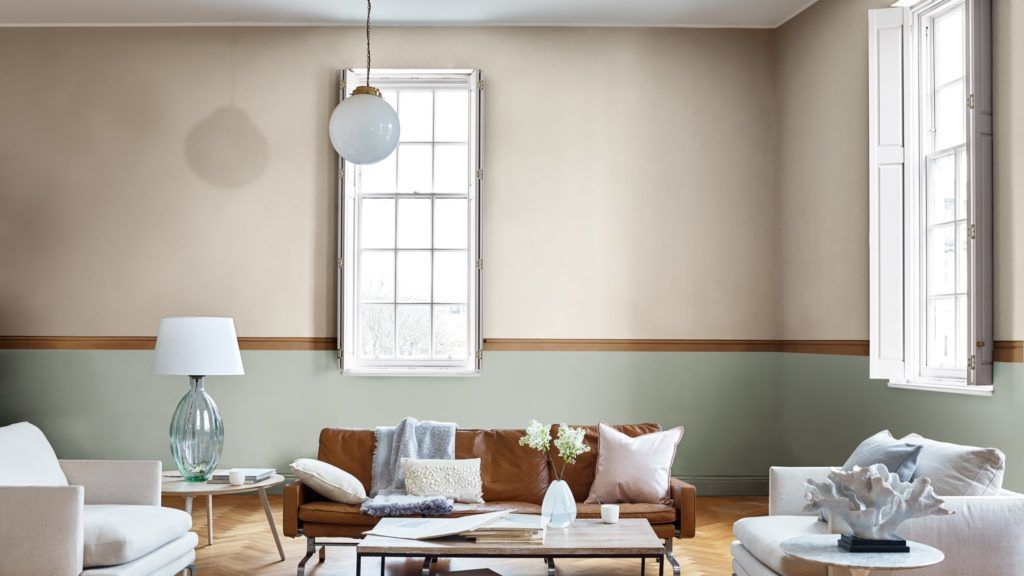 Colores para soñar, salón-comedor en tonos en tendencia 2019 escogidos por Color Future @Utrillanais