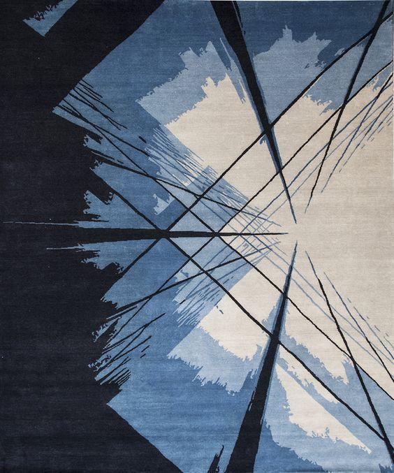 Alfombra Gianfranco Ferré Skyscraper, una manera de introducir el color pantone 2020 en la decoración de tu hogar @Utrillanais