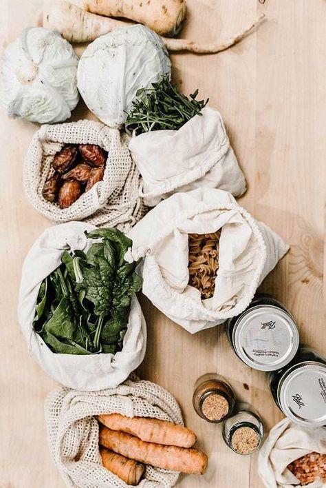 Zero Waste, bolsas de tela para reducir lo máximo posible el uso de plástico en el hogar, diseño e interiorismo sostenible, tendencias 2020 @Utrillanais