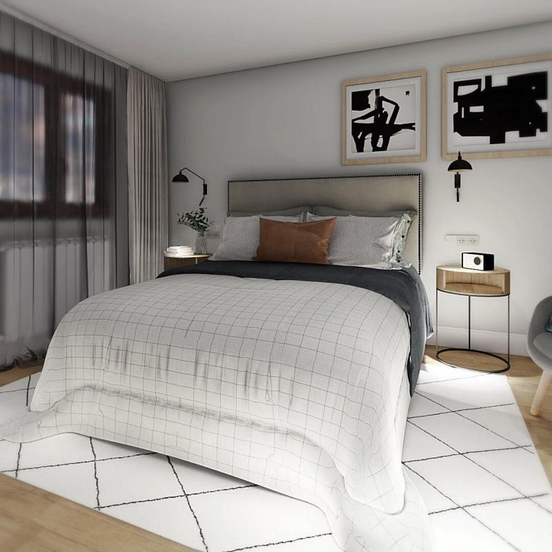 Interiorismo en 3D online a medida para proyecto de diseño de interiores en Valladolid @utrillanais