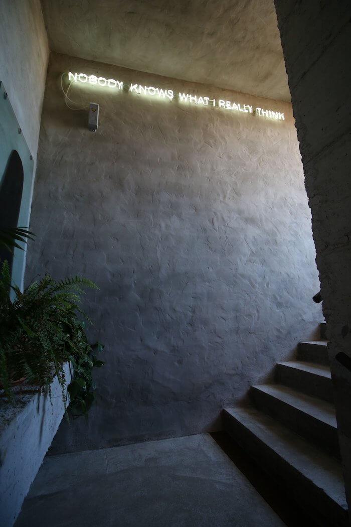 Interiores hotel Kook en Tarifa de estilo industrial, vintage