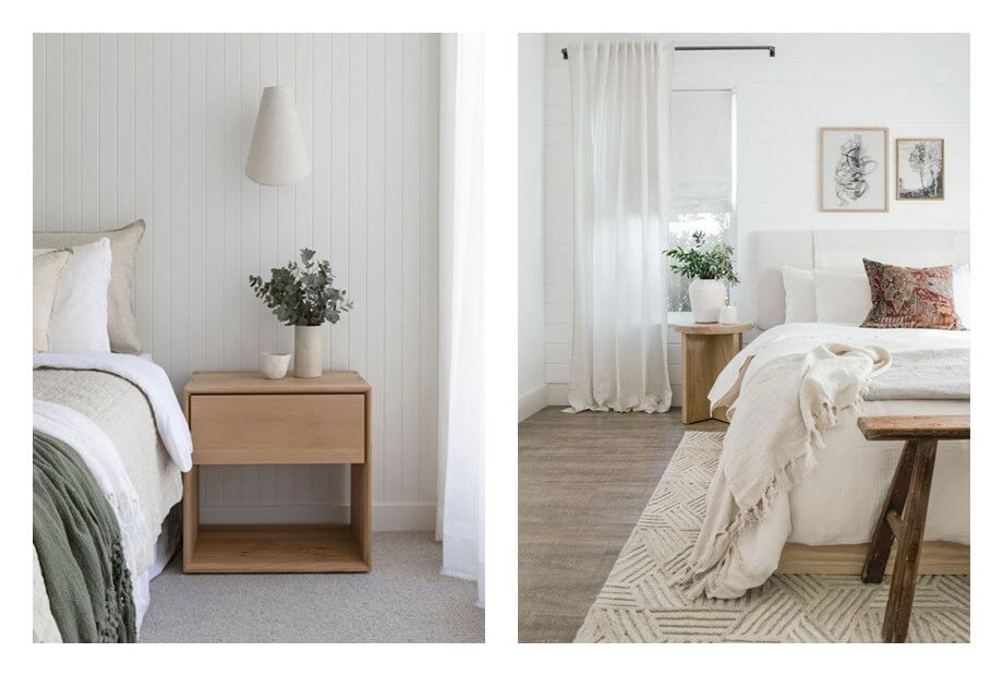 Habitaciones de estilo farm house moderno de tonos neutros, luminosos, con toques rústicos. #AnaUtrillainteriorista #Decoracióndeinterioresonline