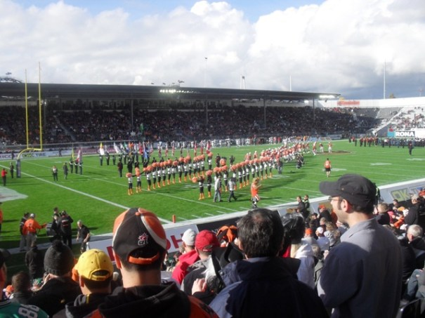 BC Lions Half Time Parade 1