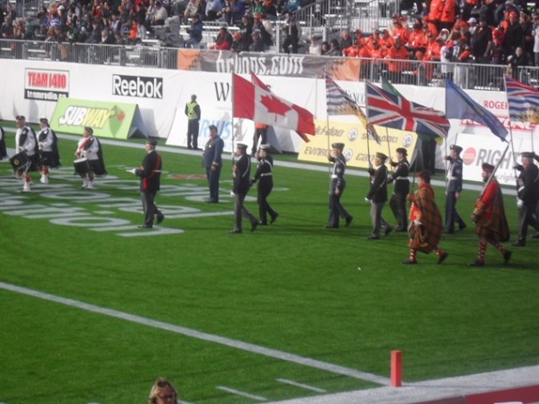 BC Lions Half Time Parade 4