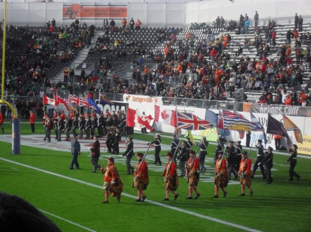 BC Lions Half Time Parade 7