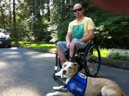 Citadel Canine Society helps veterans and Unit 68 is a proud supporter of the program