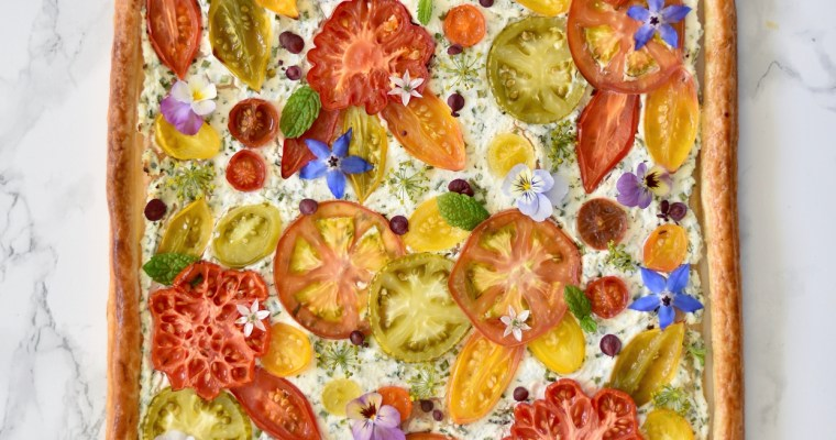 Snabblagad tomatpaj
