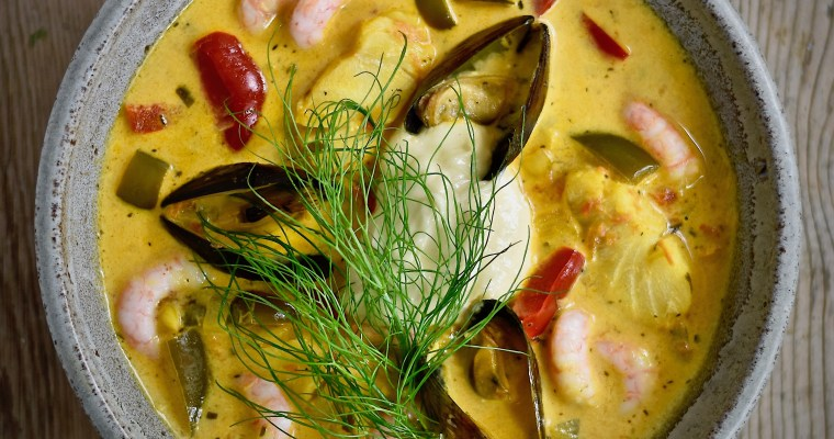 Fisk- och skaldjurssoppa