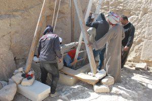 Na primeira fase das escavações da Tumba Tebana 123 (TT 123), na Necrópole de Luxor, no Egito, a equipe coordenada pela Universidade Federal de Minas Gerais (UFMG) foi até o final de um poço de mais de 4 metros de profundidade, onde encontrou uma nova tumba com sete corpos.