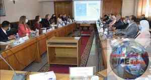 وزير الري يلتقي بوزيرة التجارة والطاقة البريطانية بحضور وزيرة البيئة
