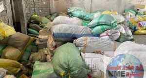ضبط ١.٤ طن خامات انتاج وضبط ١٥٠٠متر منتج نهائي بمصنعين إنتاج مواسير الكهرباء والبلاستيك بدون ترخيص