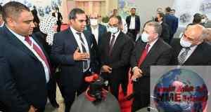 """نائب وزير الإسكان لشئون البنية الأساسية يفتتح المعرض الدولي لتكنولوجيا المياه ومعالجة الصرف """"'WATREX EXPO"""""""
